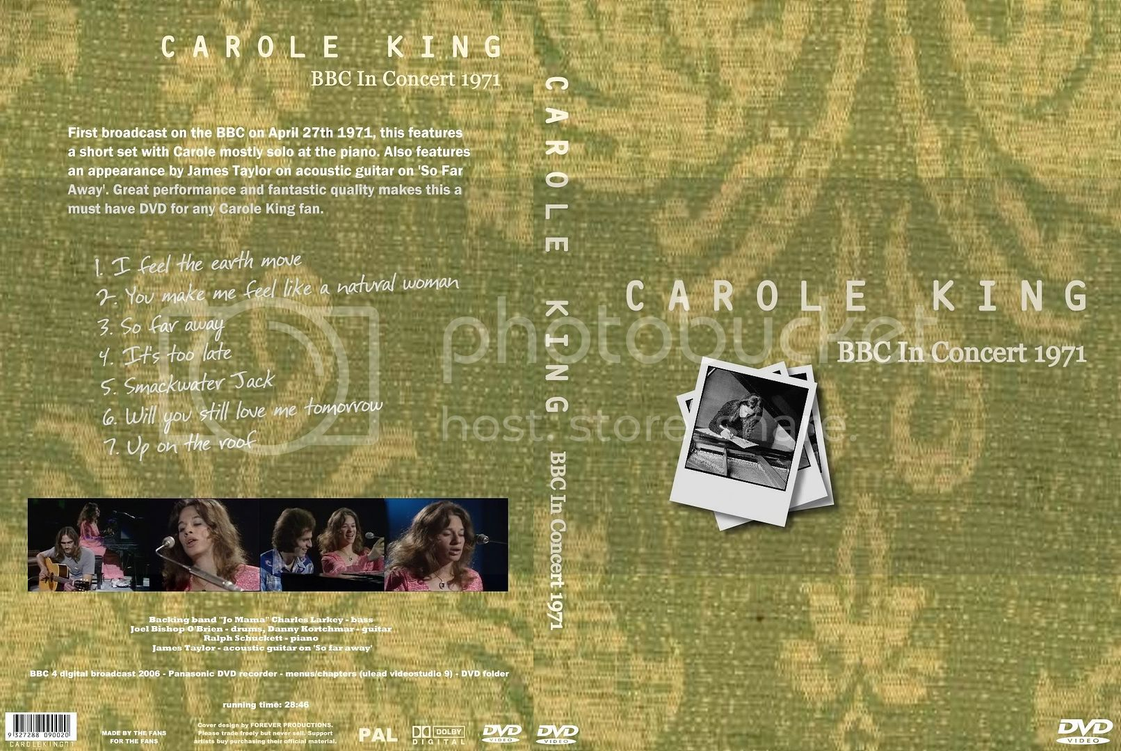 Carole King BBC In Concert Image