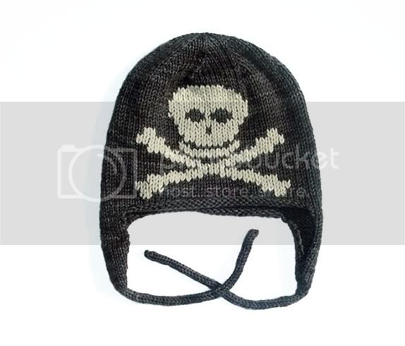 Skull Earflap Hat