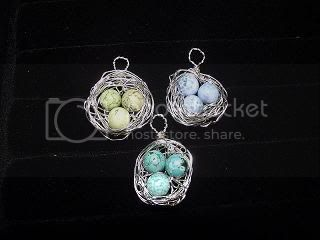 Custom Birds Nest Pendant