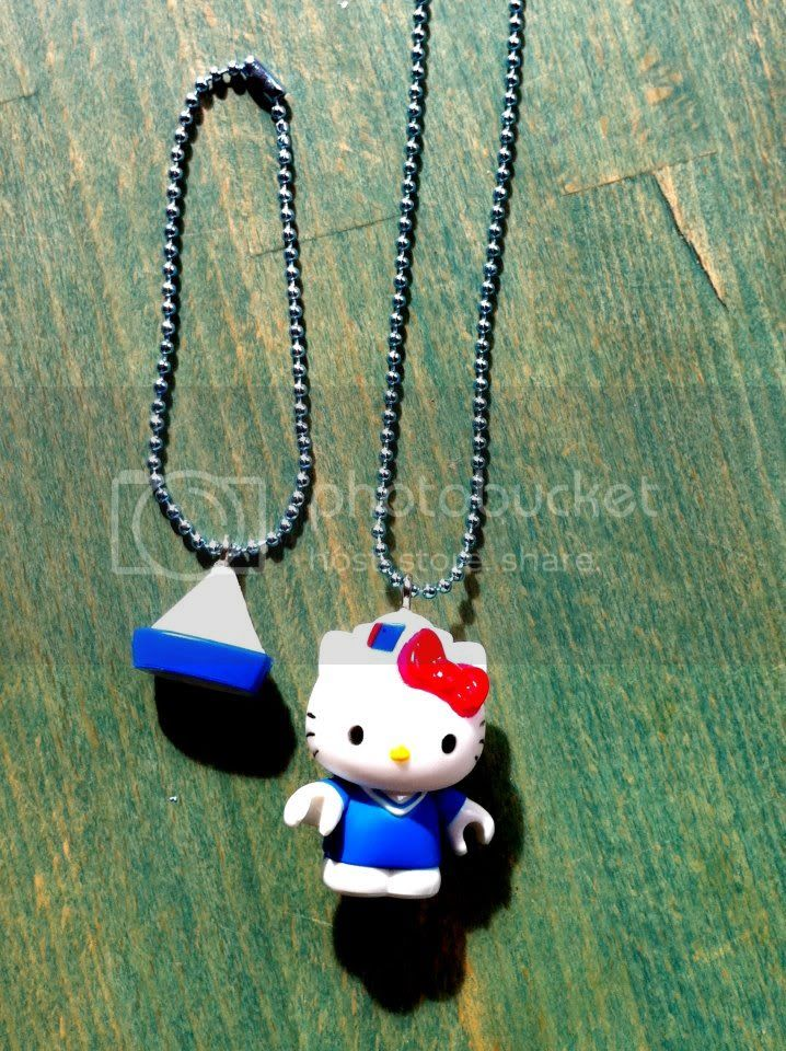 Sailor Hello Kitty Necklace/Bracelet Set
